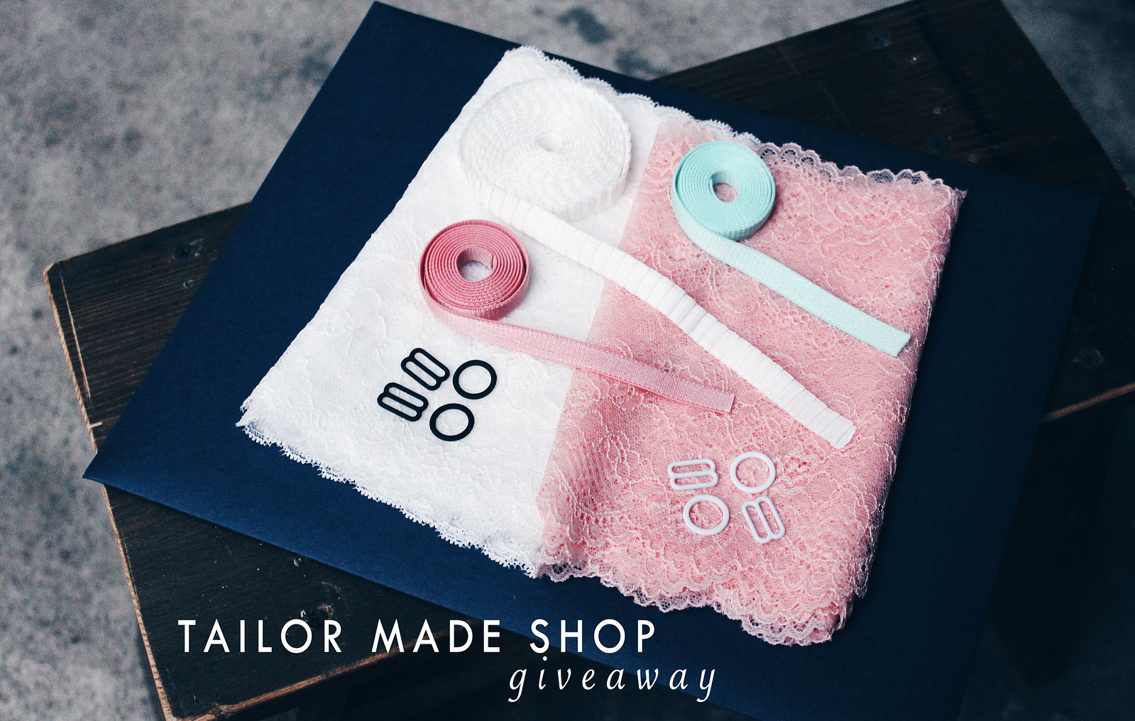 tailor made shop giveaway