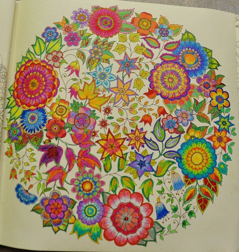 There Are Many Adult Coloring Books Available To Choose From Two That I Have COLOR ME CALM A ZEN COLORING BOOK And SECRET GARDEN