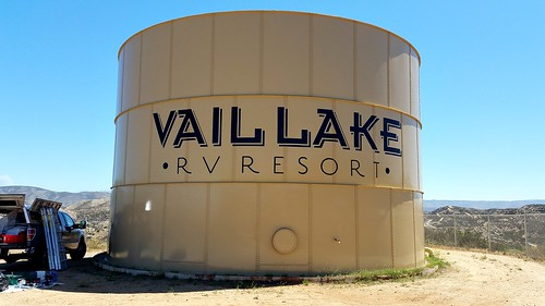 Vail Lake RV Resort - painted graphics