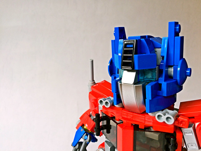 LEGO Transformers: Chibimus Prime- Close up 2