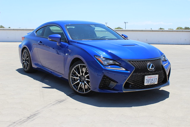 2015 Lexus RC F is in the CF Garage