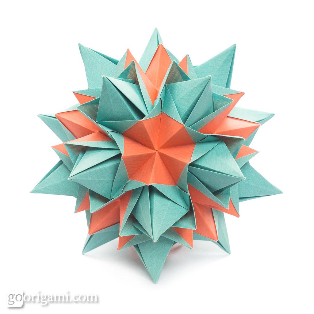 Origami Kusudama Origami Kusudama Maria Sinayskaya Squar Flickr