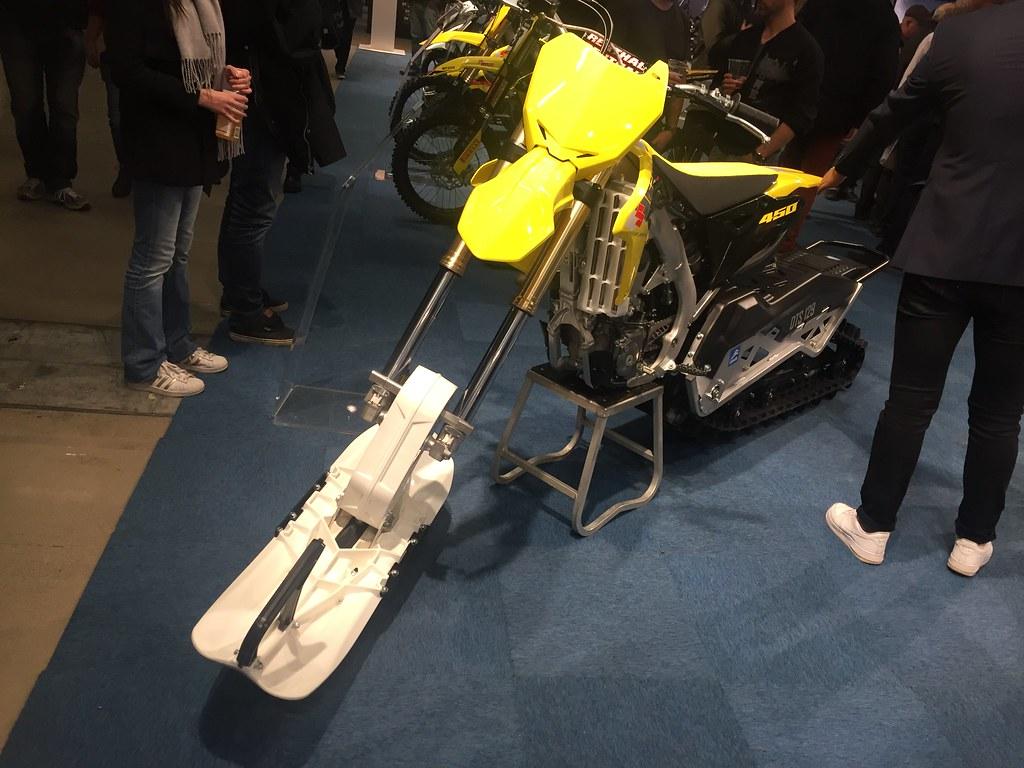 MC-mässan 2017 - kanske dags för en ny leksak - Suzuki