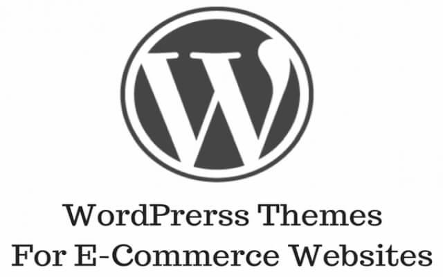 WordPrerss Themes For E-Commerce Websites Header image