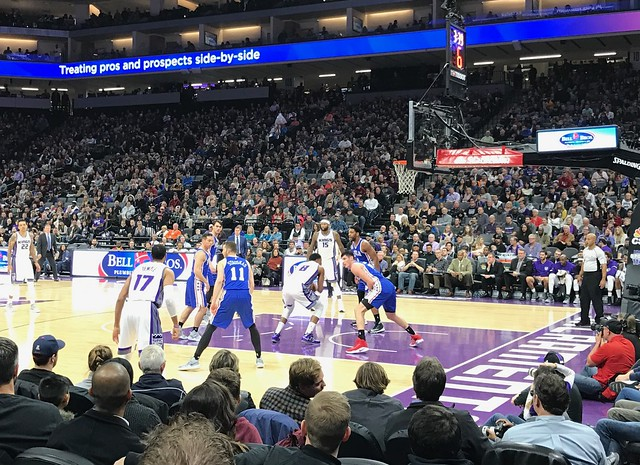 2016 Kings versus 76ers