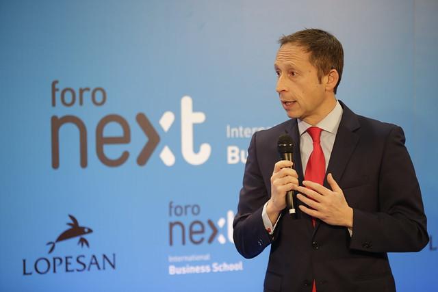 Foro Next IBS con Antonio Garamendi