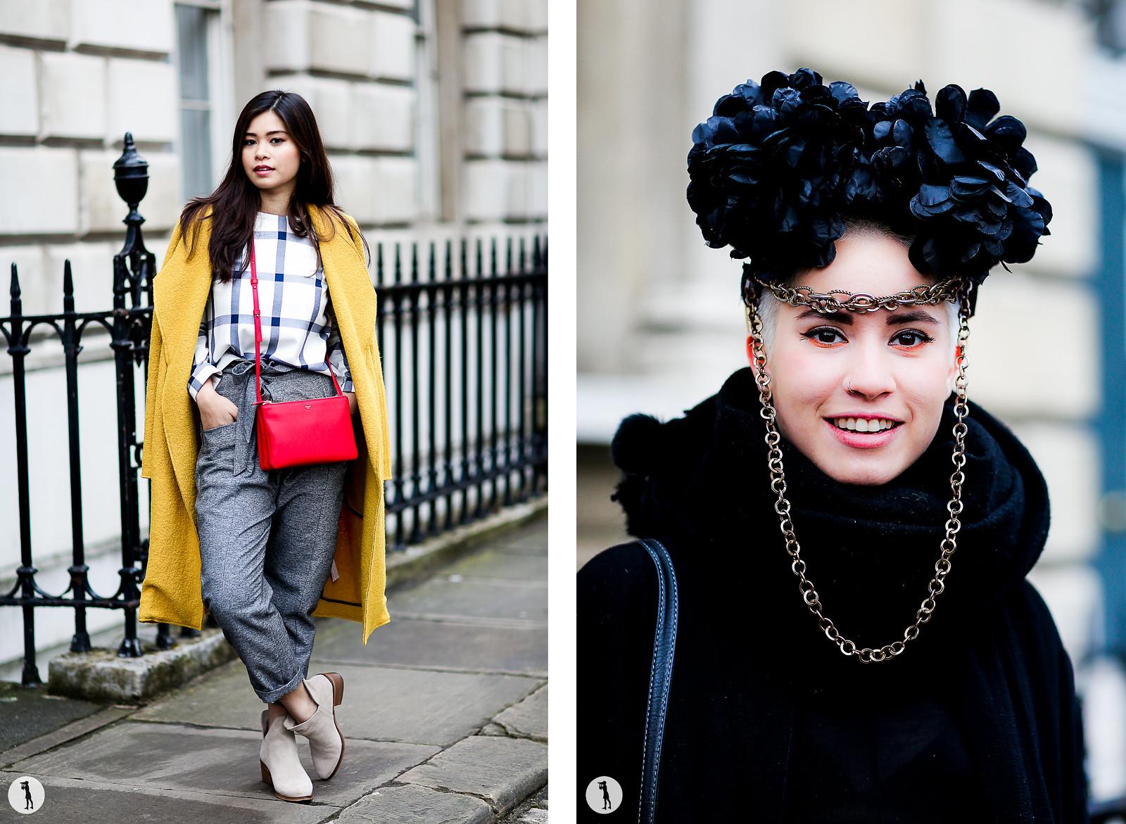Street style - London Fashion Week RDT FW15-16
