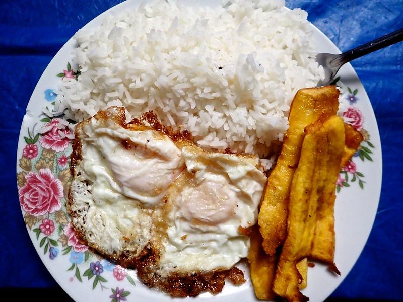 Desayuno en Antacallanca.