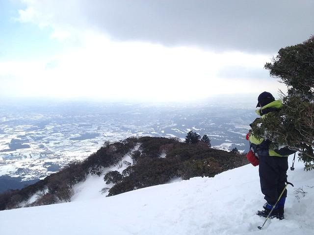 入道ヶ岳 山頂からの眺望