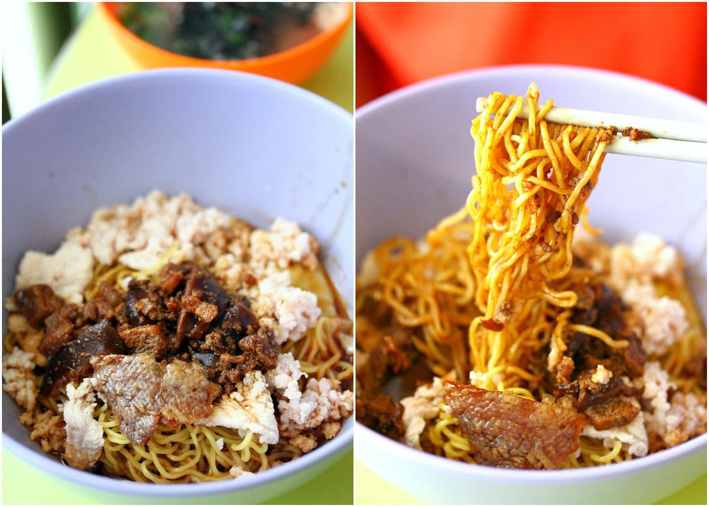 Ah Kow Mushroom Minced Pork Mee (Hong Lim)