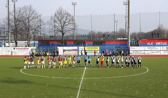 Virtus Verona-Vigontina S.Paolo 2-1: vittoria rossoblu!