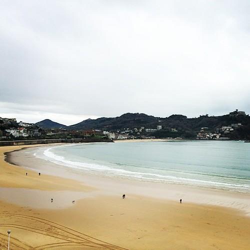 San Sebastián bay #sansebastian
