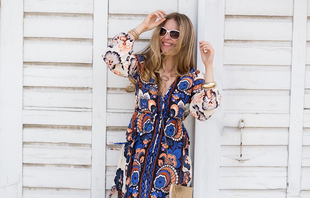 H&M maxi dress trend