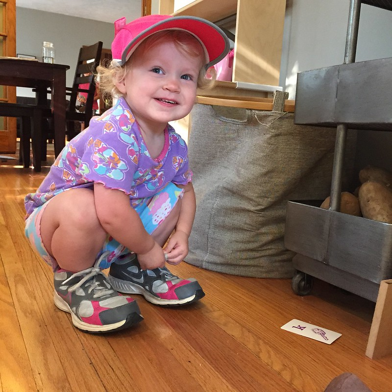 Cora's shoes and hat