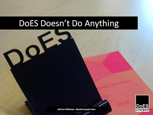 DoES Doesn't Do Anything