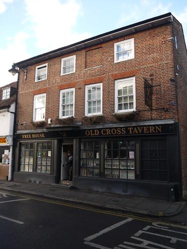 Landlord at Old Cross Tavern