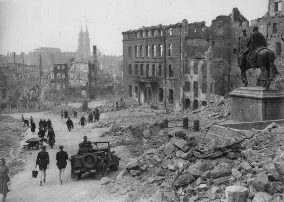 Núremberg tras la II Guerra Mundial