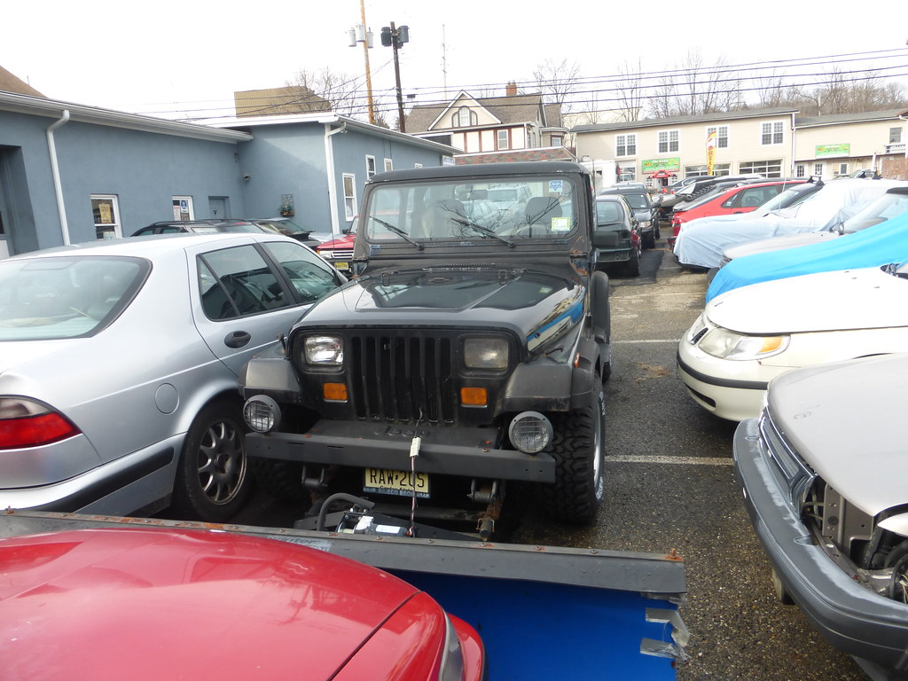 1988 Jeep Wrangler Snowplow R36 Coach Flickr Hard Top By