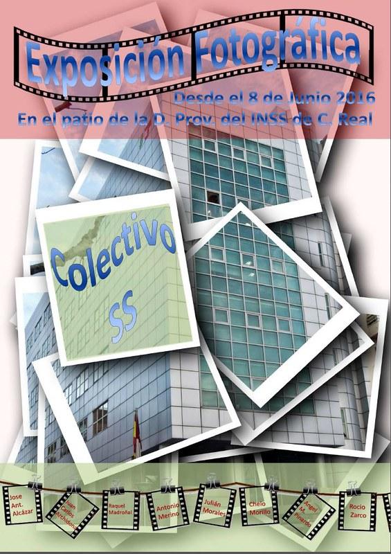 Cartel exposición colectivo Seg. Social