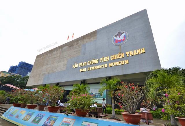 war remnants museum facade