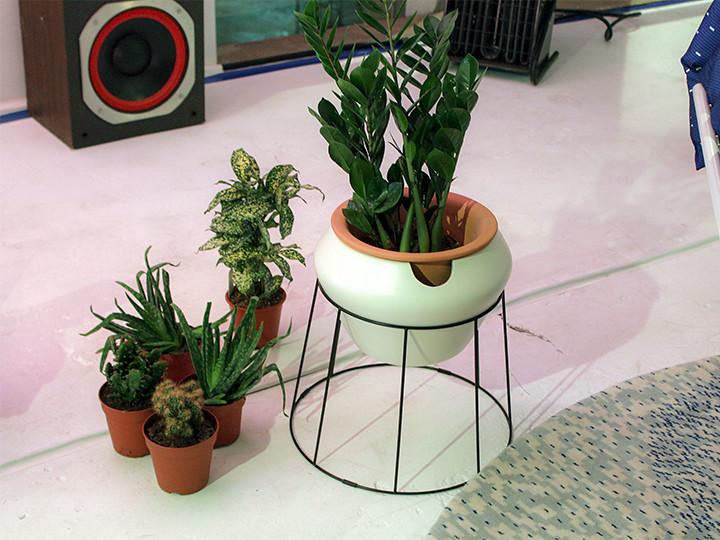 Zelfwaterende plantenpot