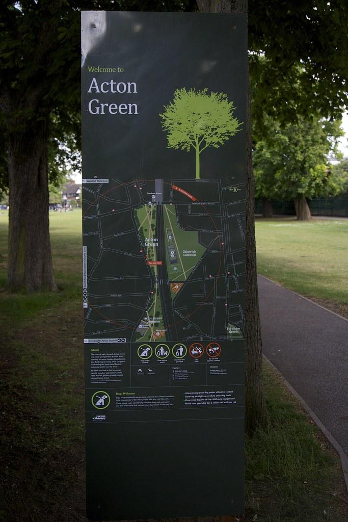 Acton Green Sign May 2015