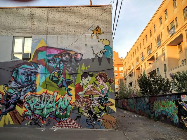 Street Art des temps modernes...