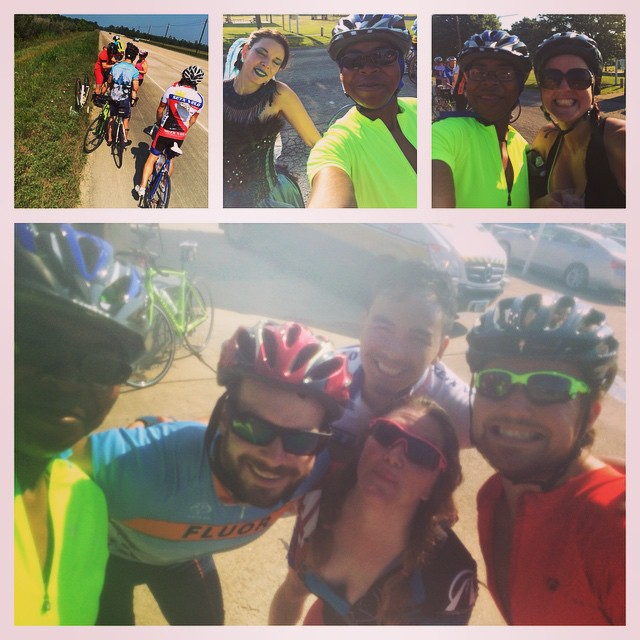 Just riding 52 miles with friends. Hello summer! #fitfluential #cycling #outdoors #biking #roadbike #fitspiraton #fitness #fitfam