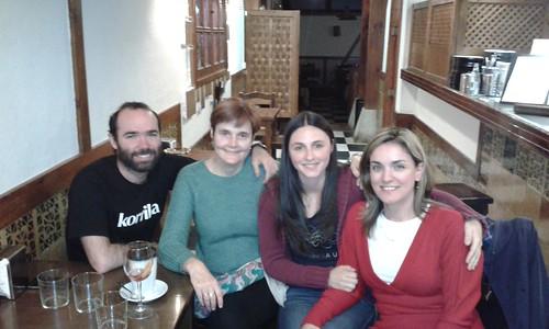Galder, Elena, Irene eta Itziar