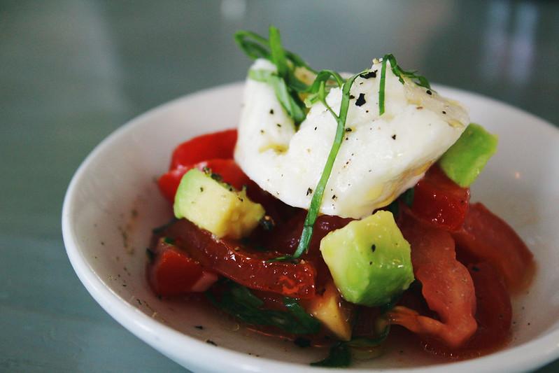 Buffalo Mozarella Tomato Starter Strada Restaurant
