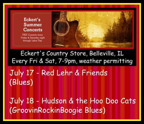Eckert's Summer Concerts 7-17, 7-18-15