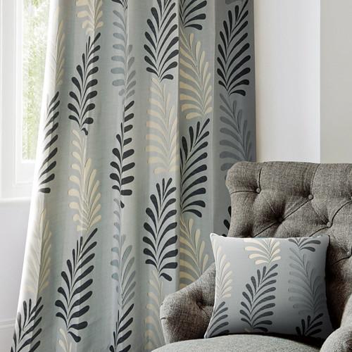 秋瑟棕櫚(獨家) 秋季園藝 防光(遮光)窗簾布 DA1290142