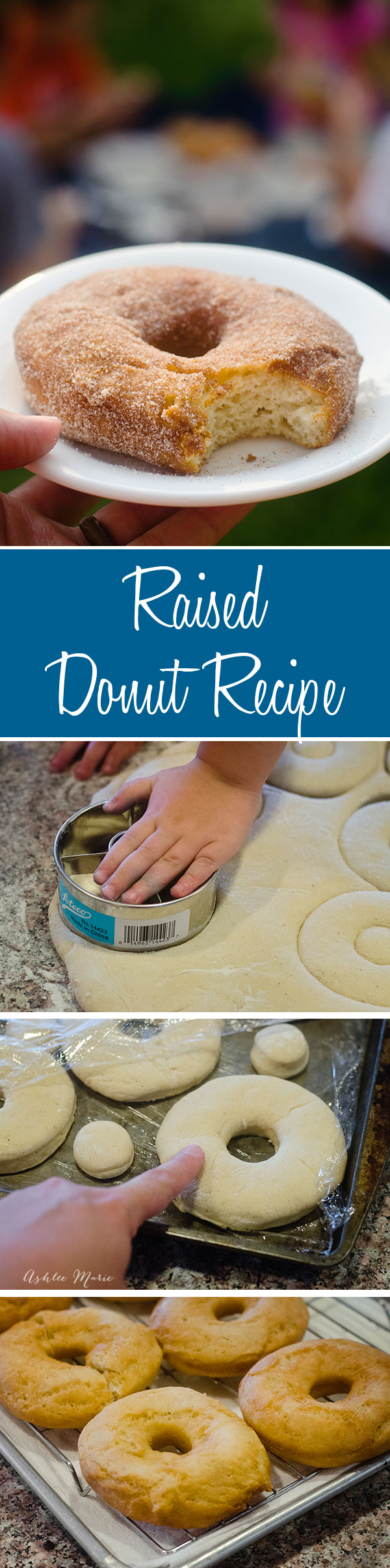 a delicious homemade raised donut recipe, that everyone loves, Great with any topping or filling