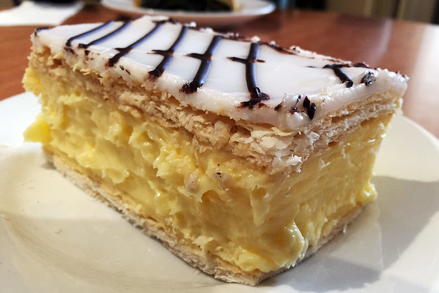 Vanilla slice: Otto's Bakery