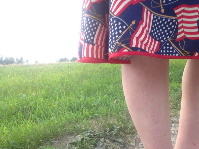 Its Finished! // Independence Day Skirt
