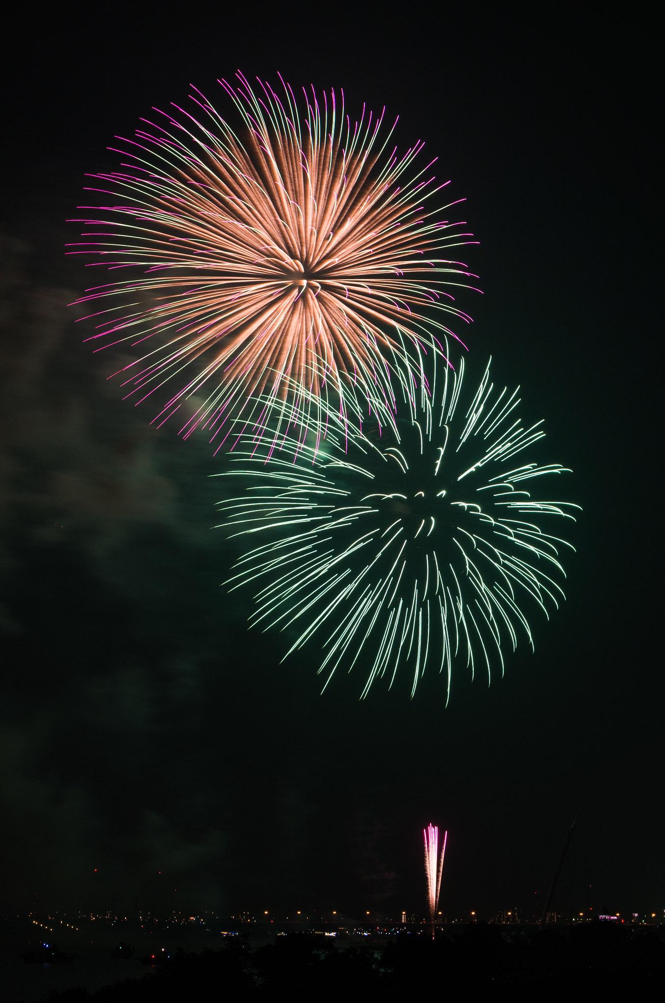Edogawa Fireworks Festival 5