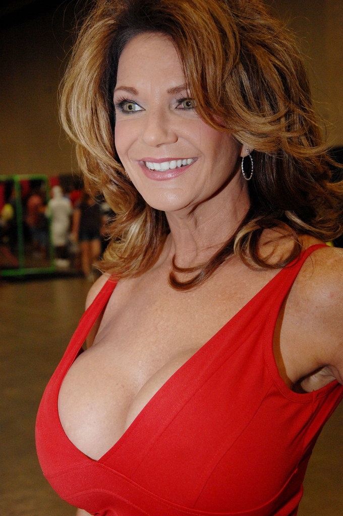 Naughty MILF with shapely boobs Deauxma takes off underwear  344576