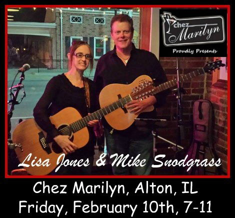 Lisa Jones & Mike Snodgrass 2-10-17