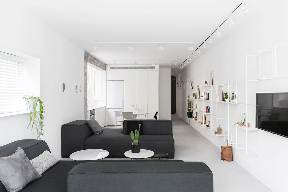SIG black and white apartment by Yael Perry Sundeno_02