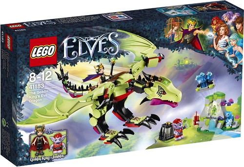 The Goblin King's Evil Dragon 41183 - box