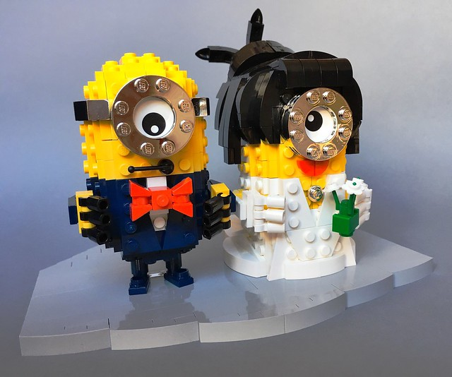 Minion groom and bride
