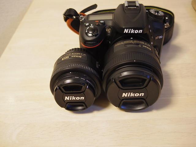 AF-S NIKKOR 85mm f/1.8Gと35mm f/1.8を比べる