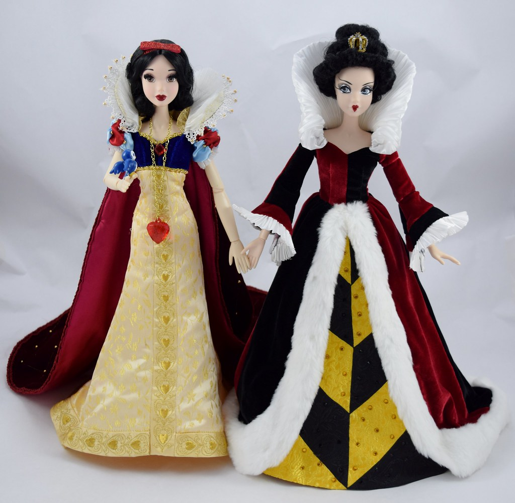 Snow White Welcomes Queen Of Hearts Into My Collection Of