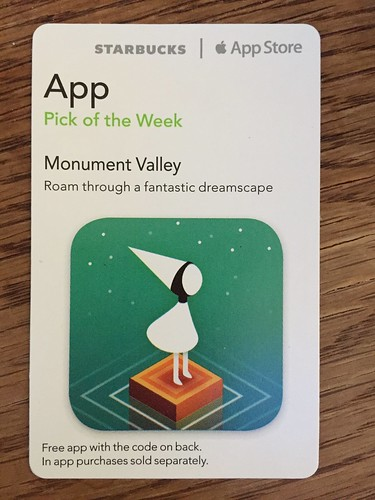 Starbucks iTunes Pick of the Week - Monument Valley