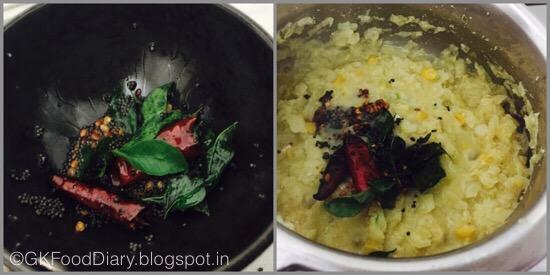 Cabbage Kootu - step 3