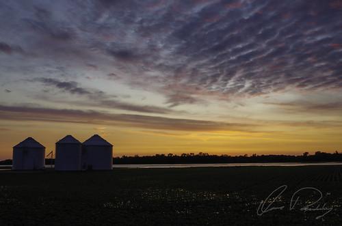 Silo Sunset