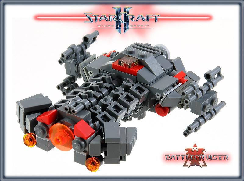LEGO MOC StarCraft: Battlecruiser