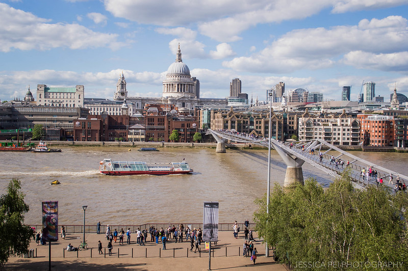 View of London from Tate Modern