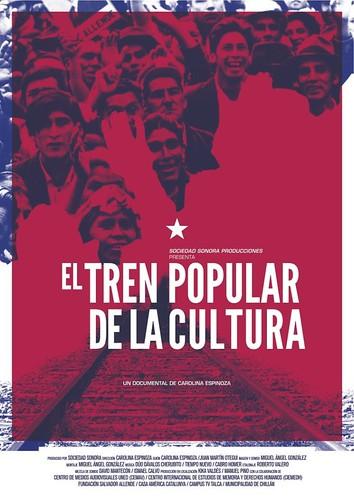 El tren popular de la cultura_cartell