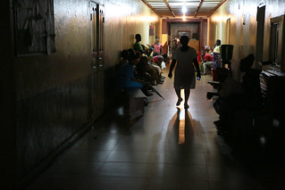 Patients seeking treatment at Liberia Government Hospital | by World Bank Photo Collection